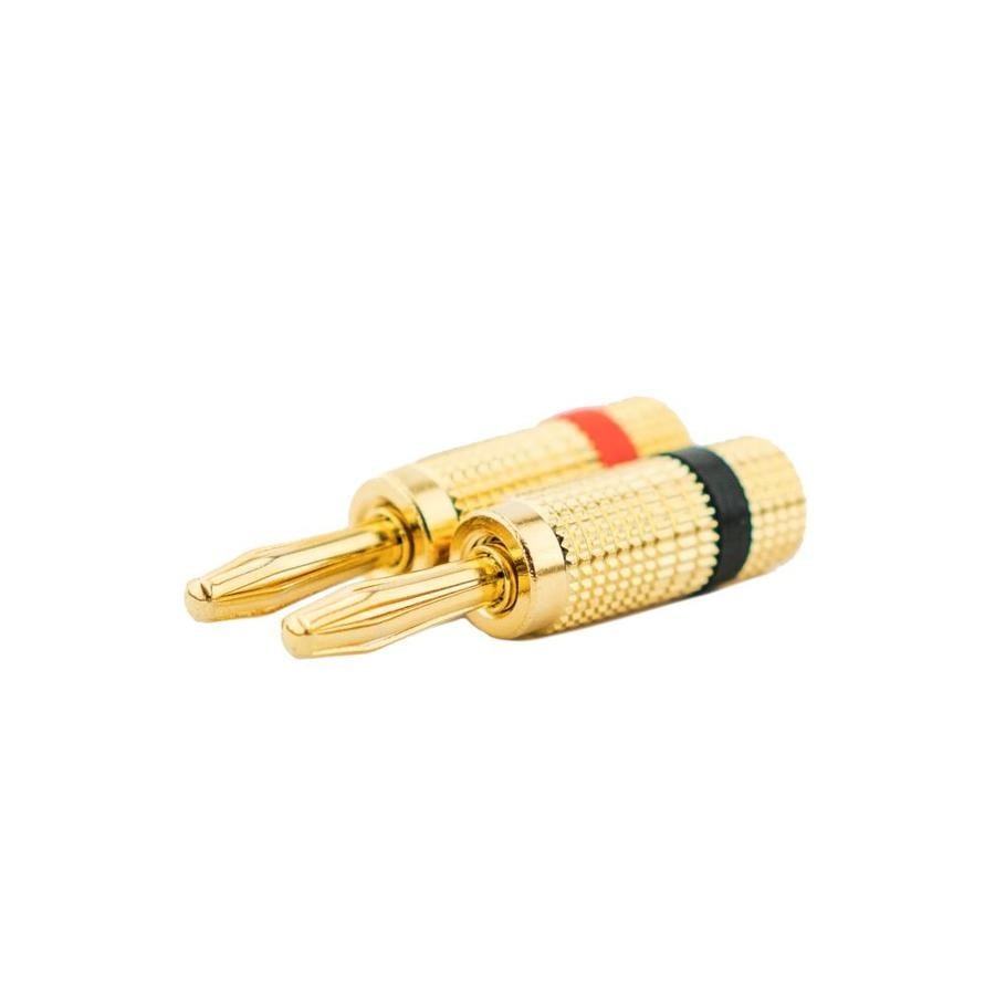 On-Q/Legrand Brass Banana Plug Audio Connector