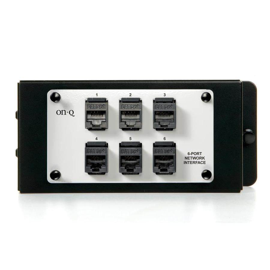 On-Q/Legrand 6 Port Network Interface Module