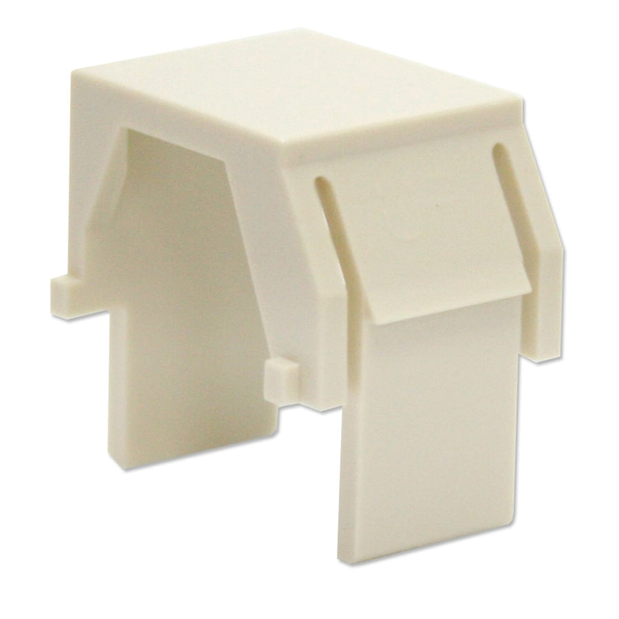 Legrand 10-Pack Plastic Blank Insert Wall Jacks