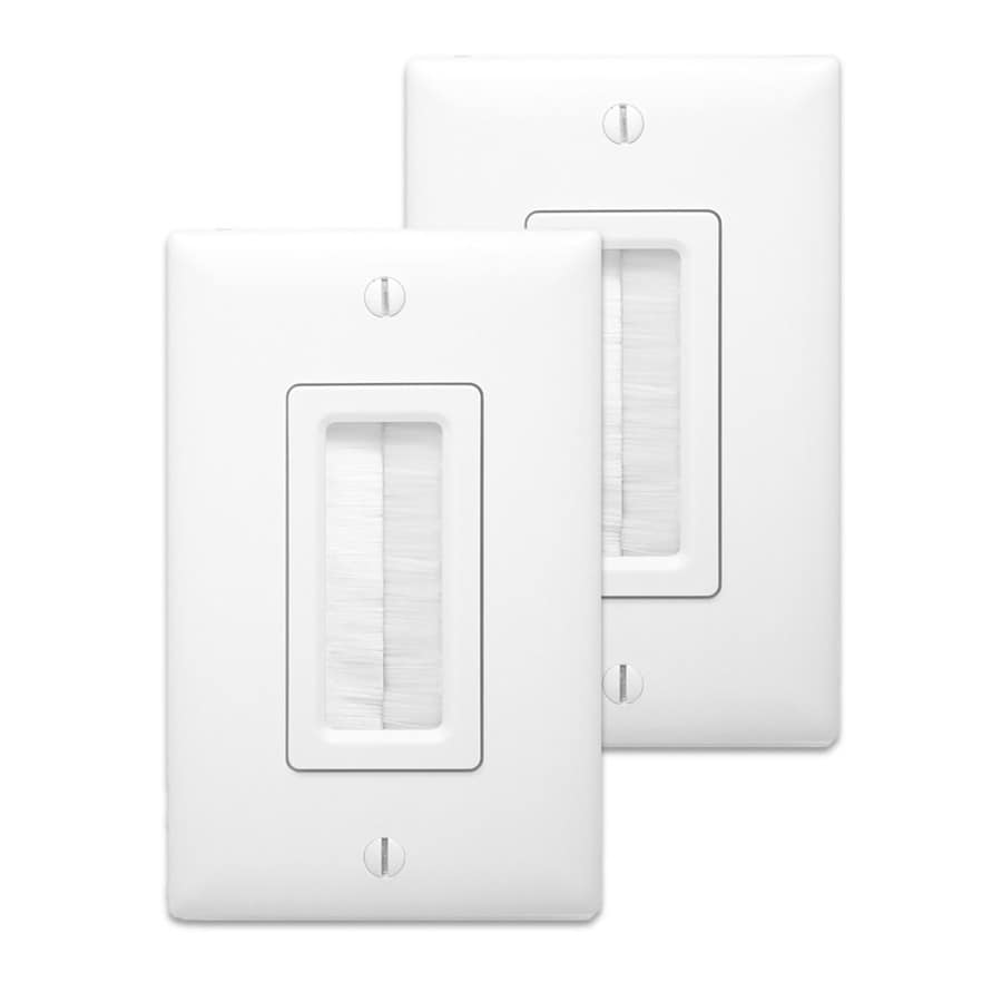 On-Q/Legrand 17.65-cu in 1-Gang Plastic Low Voltage Wall Electrical Box