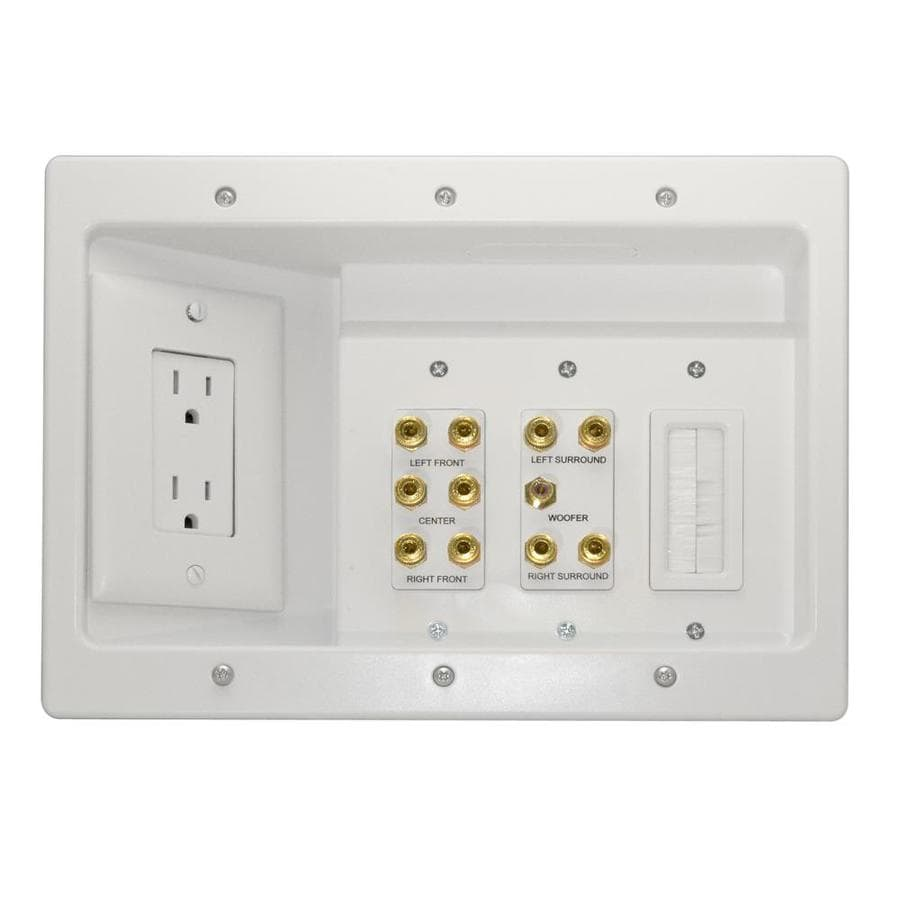 Shop On-Q/Legrand 342-cu in 3-Gang Plastic Adjustable Wall Electrical Box at Lowes.com