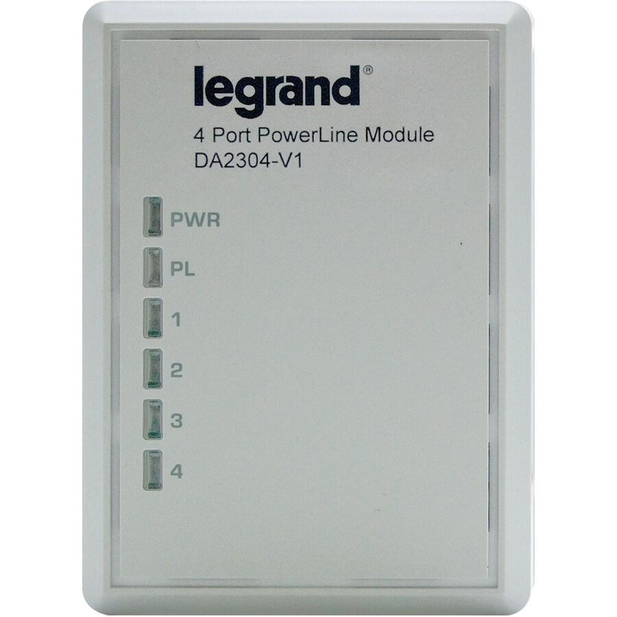 On-Q/Legrand Plastic Combination Wall Jack