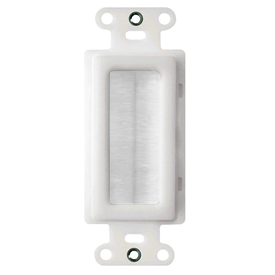 On-Q/Legrand White Cable Access Strap
