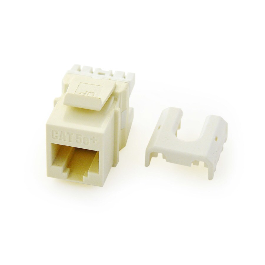 legrand plastic cat5e ethernet wall jack at lowes.com le grand cat5e jack wiring le grand cat 5 wiring diagram