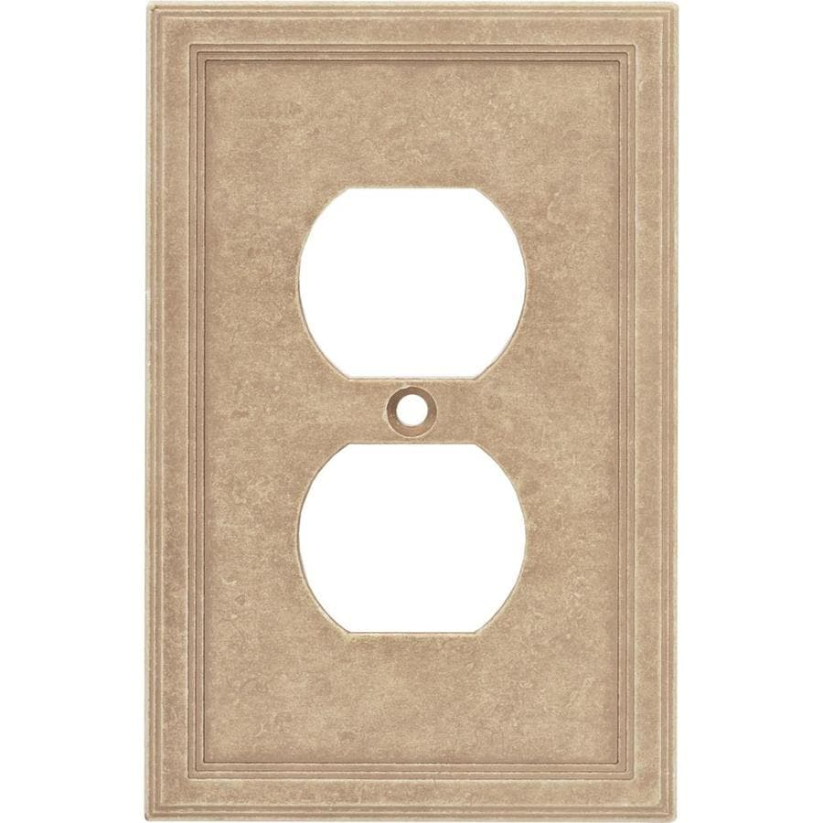 Stone switch plate covers lowes