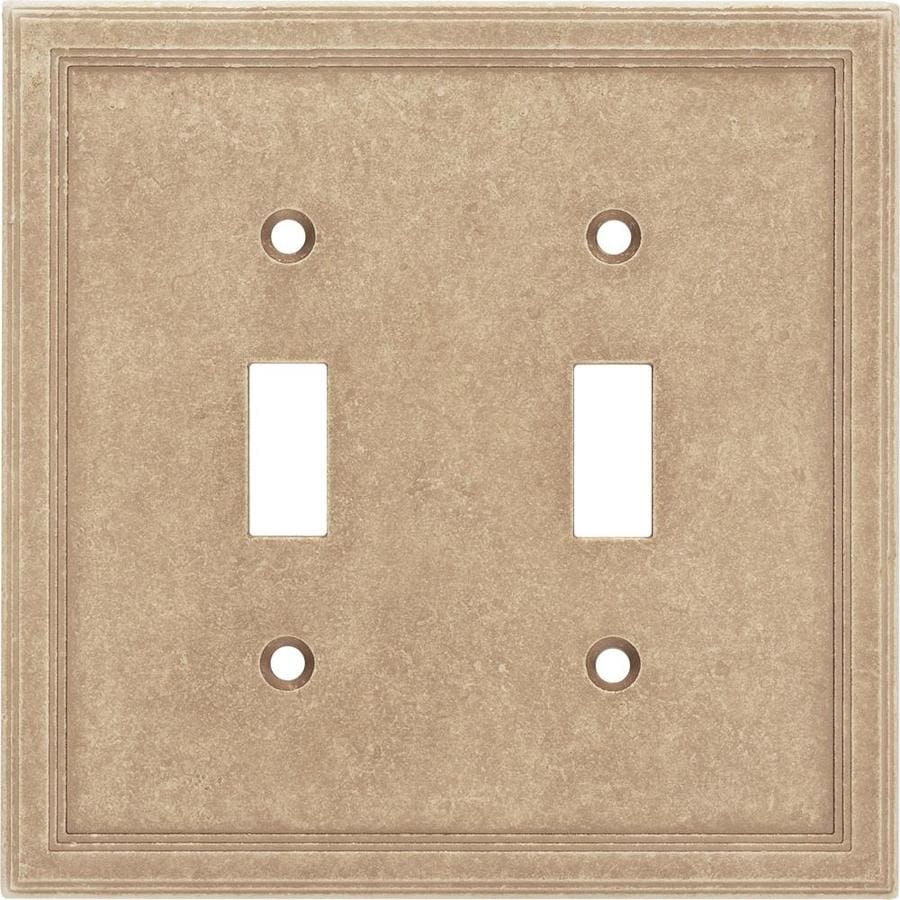 Somerset Collection Somerset 2-Gang Sienna Double Toggle Wall Plate