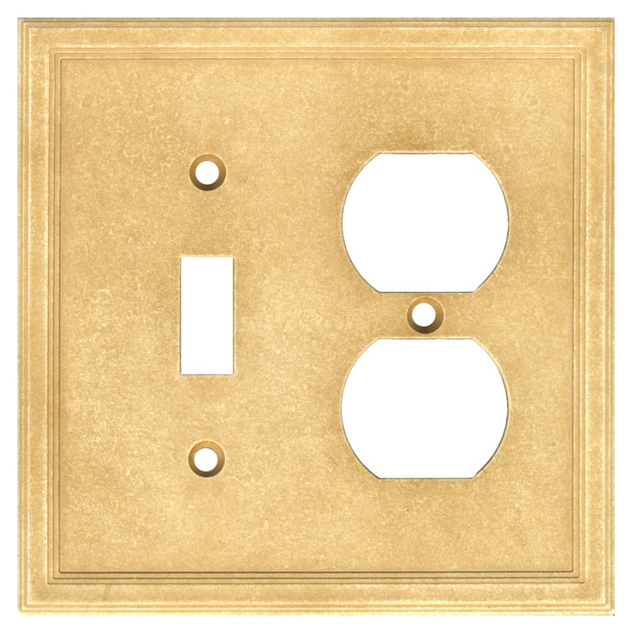 Somerset Collection 2-Gang Sahara Wall Plate