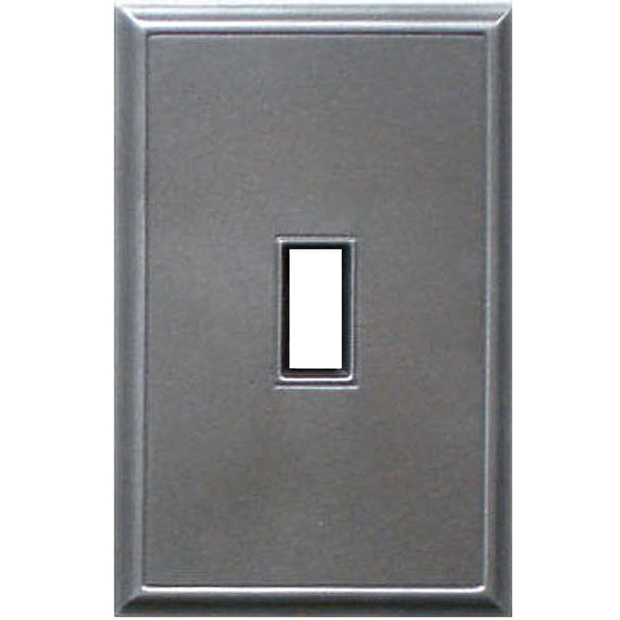Somerset Collection 1-Gang Iron Toggle Wall Plate