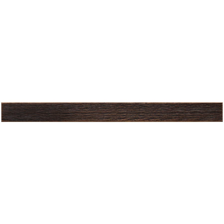 Somerset Collection Oil Rubbed Bronze Metal Pencil Liner Tile (Common: 5/8-in x 12-in; Actual: 0.3-in x 11.3-in)