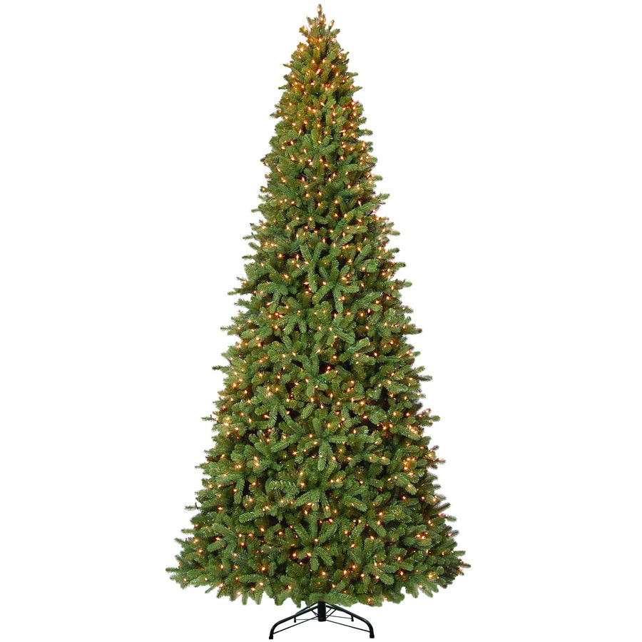 Westinghouse 12-ft Fir Pre-lit Artificial Christmas Tree with 1550-Count Clear Lights
