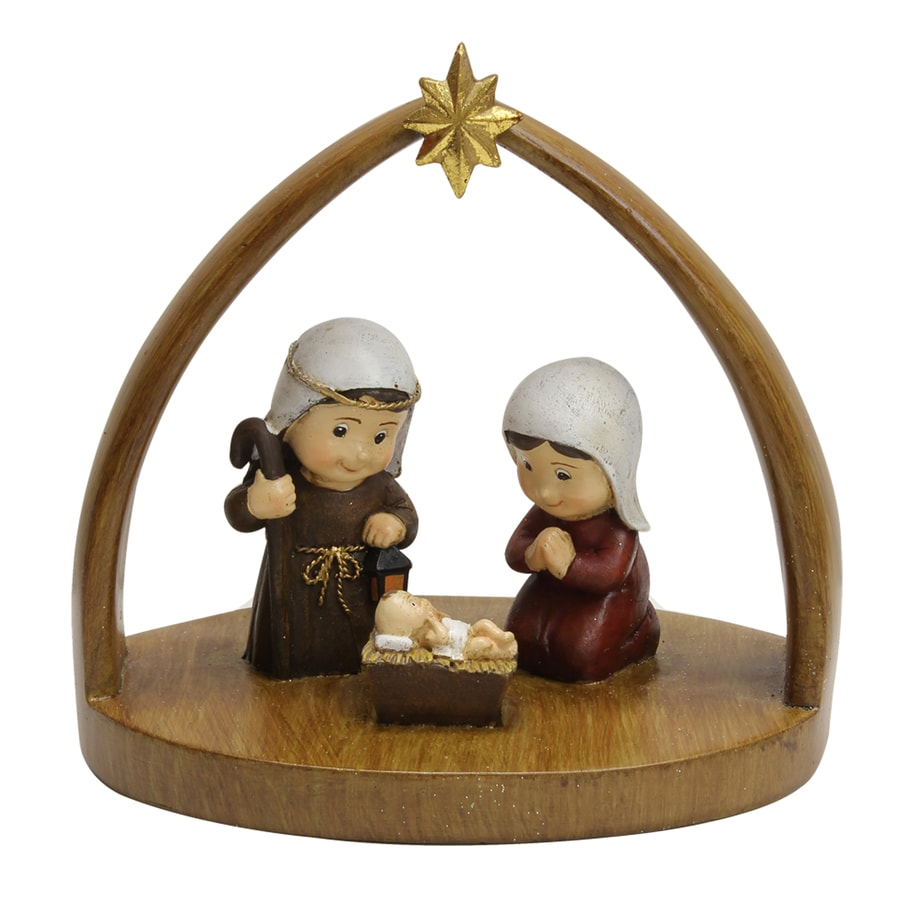 Holiday Living Nativity Figurine