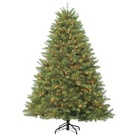 holiday living 75 ft pre lit douglas fir artificial christmas tree with 1200 constant