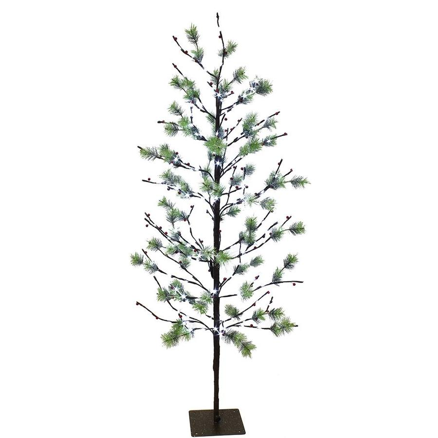 Pre Lit Christmas Tree Fuses: Puleo International 5-ft Pre-lit Artificial Christmas Tree