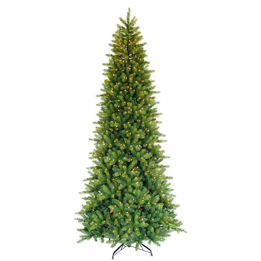 Pre Lit Christmas Tree Fuses: Puleo International 9-ft Pre-lit Artificial Christmas Tree