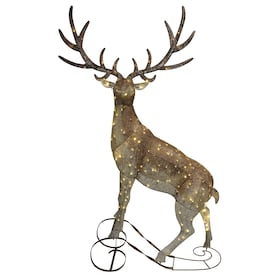Elk Outdoor Christmas Decorations At Lowes