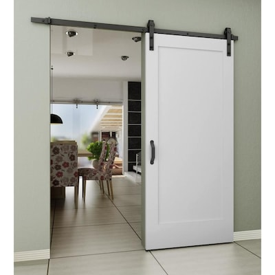 White Barn Doors At Lowes Com