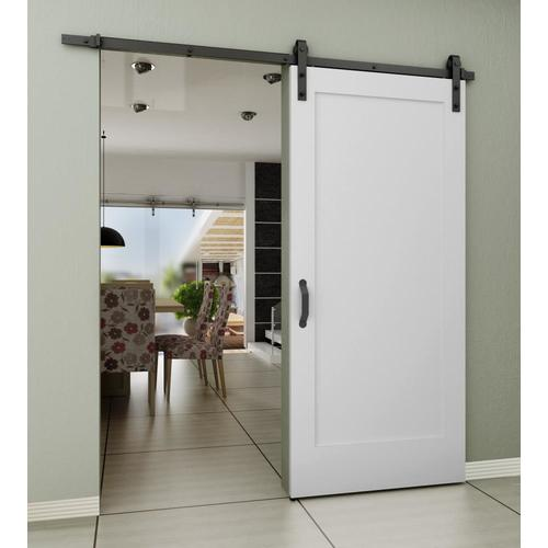 Frameport 36 In X 84 In White Prefinished 1 Panel Wood