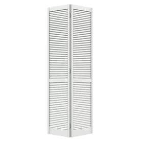 Great ReliaBilt Louver Hollow Core Pine Bi Fold Closet Interior Door With  Hardware (Common: