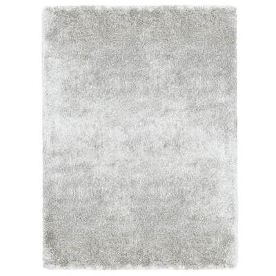 Korleigh Shag White Indoor Area Rug Common 10 X 12 Actual Ft W L