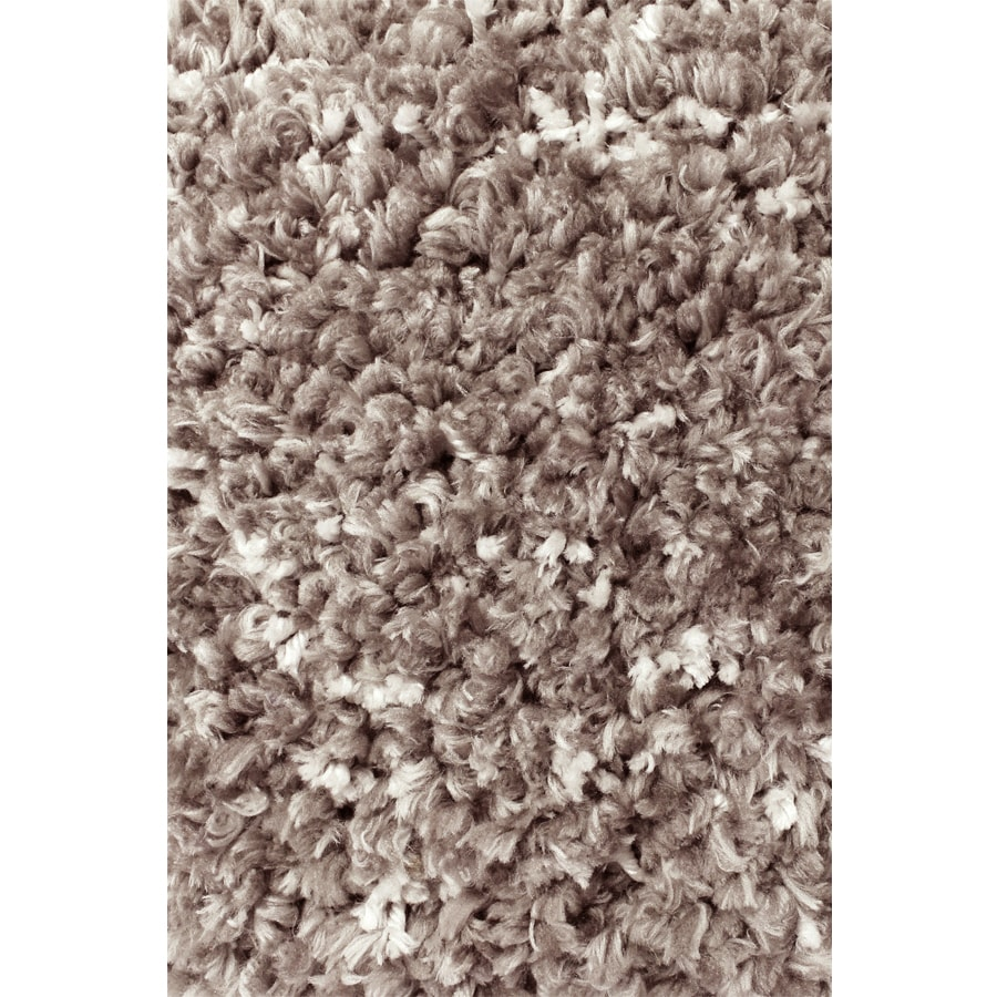 Carpet Art Deco Veneto Taupe Rectangular Indoor Machine-made Area Rug (Common: 5 x 8; Actual:-ft W x 5.3-ft L x 7.5-ft Dia)