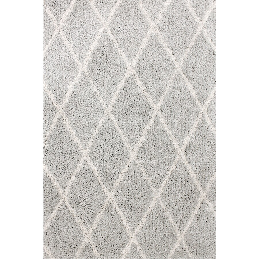 carpet art deco veneto light greywhite rectangular indoor machinemade area rug