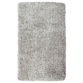 allen + roth Amest Gray Indoor Inspirational Throw Rug (Common: 2 x 4; Actual: 2-ft W x 3.5-ft L)