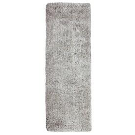 Carpet Art Deco Amest Gray Rectangular Indoor Machine-Made Runner (Common: 2 x 8; Actual: 2.1-ft W x 7.1-ft L)