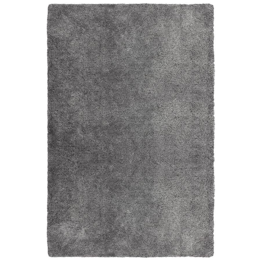 Carpet Art Deco Amest Dark Gray Rectangular Indoor Area Rug (Common: 10 x 12; Actual: 10-ft W x 12-ft L)