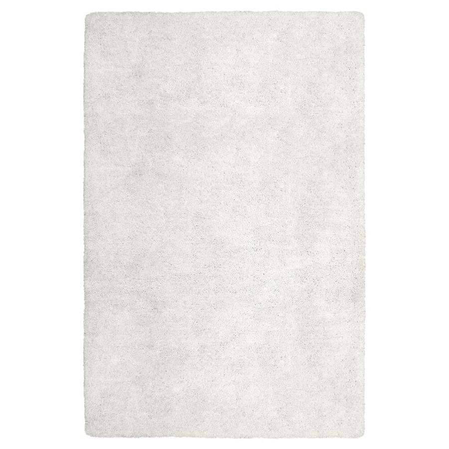 Carpet Art Deco Amest White Rectangular Indoor Area Rug (Common: 10 x 12; Actual: 10-ft W x 12-ft L)