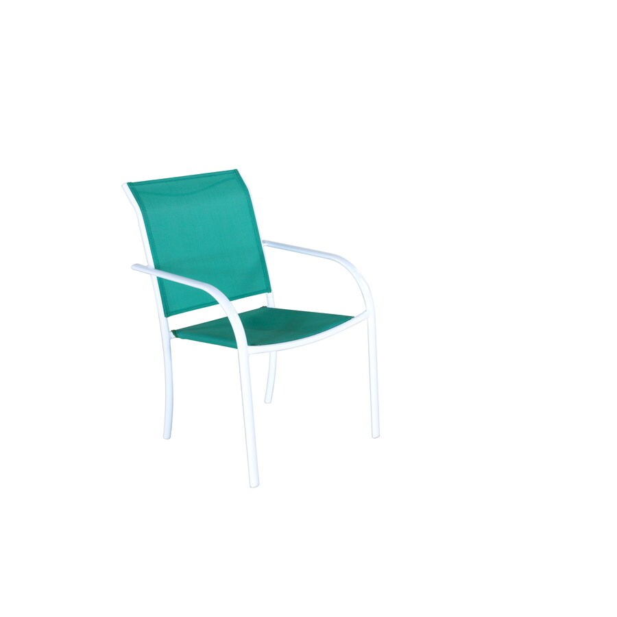 Style Selections Steel Patio Dining Chair