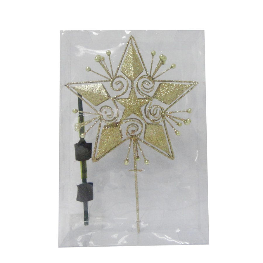 Holiday Living Metal Star Christmas Tree Topper
