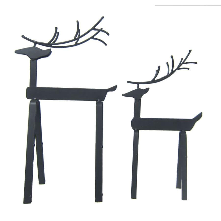 Holiday Living 2-Pack Metal Tabletop Deer Indoor Christmas Decoration