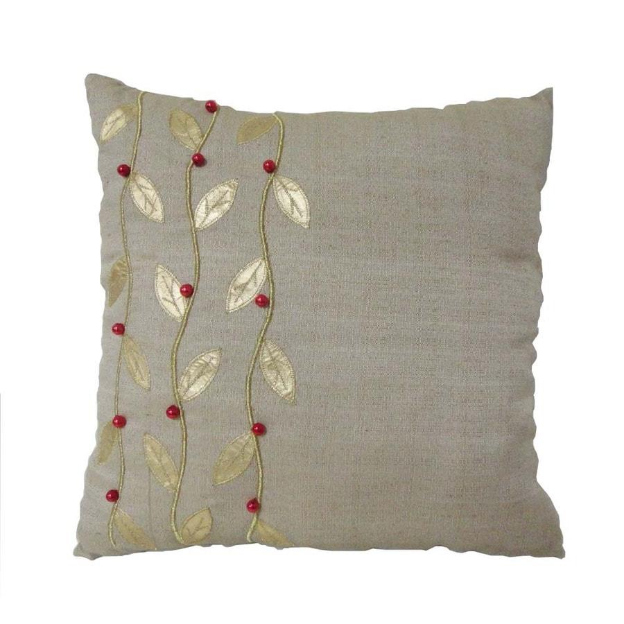 allen + roth Natural Vine Pillow