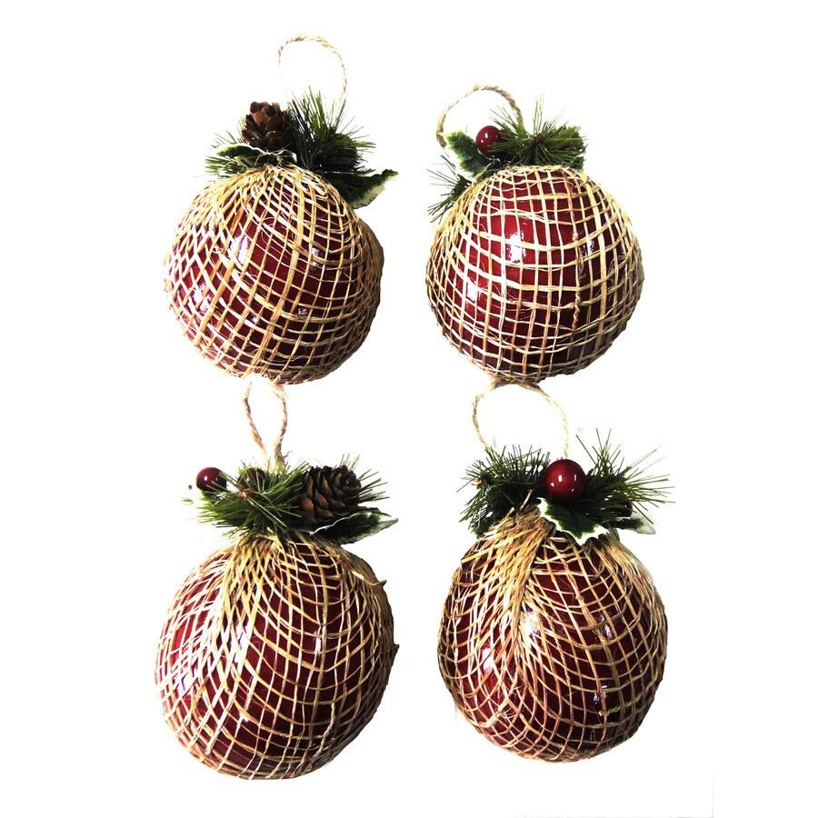 Holiday Living Multicolor Ball Ornament Set Lights