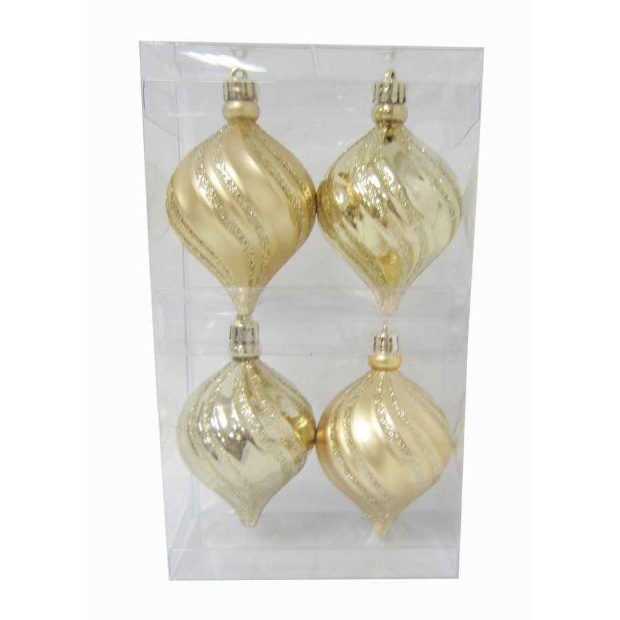 Holiday Living Gold Ornament Set Lights