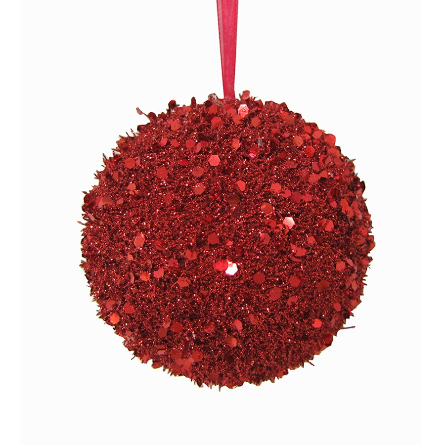 Holiday Living Red Ball Ornament Lights