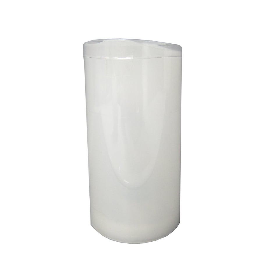 allen + roth 6-in Indoor/Outdoor Battery-Operated LED White Electric Pillar Candle with Timer