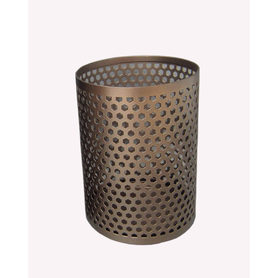 allen + roth 1 Candle Bronze Metal Hurricane Candle Holder