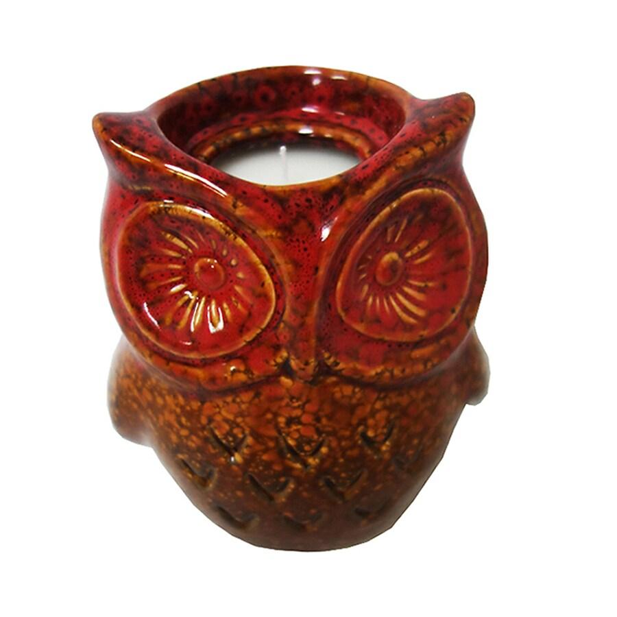 Garden Treasures 1-Wick Glazed Ceramic Tabletop Citronella Candle