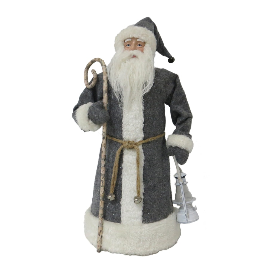 Holiday Living Santa Figurine