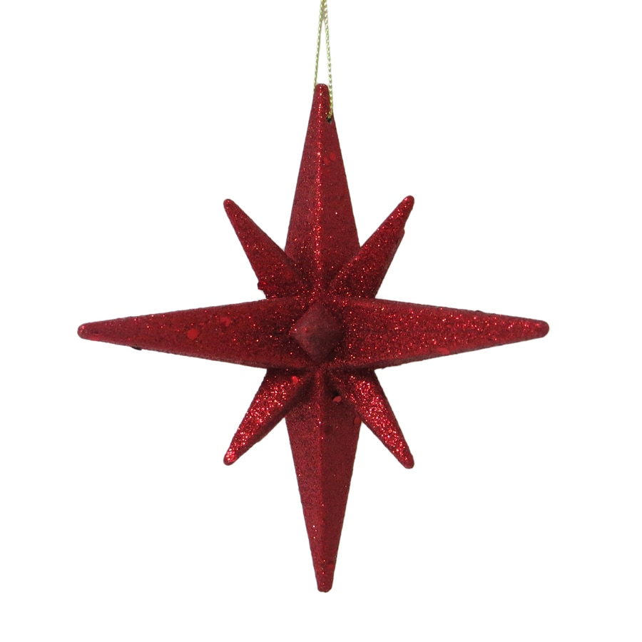 Holiday Living Red Star Ornament