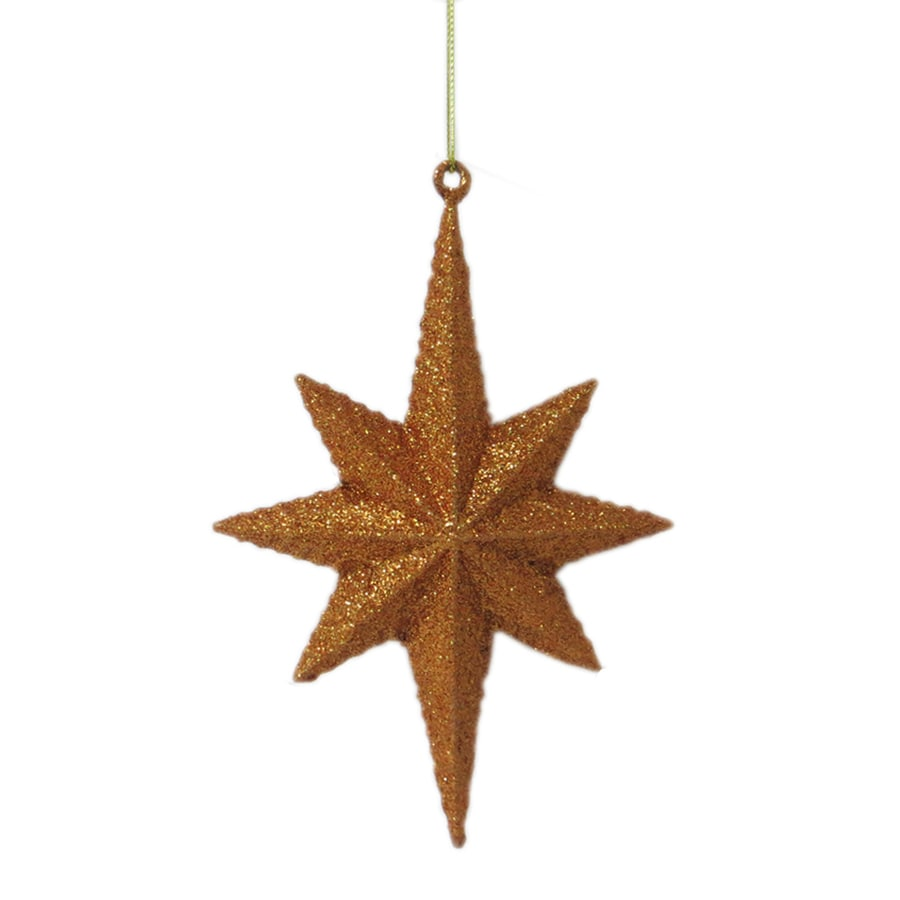 Holiday Living Copper Star Ornament