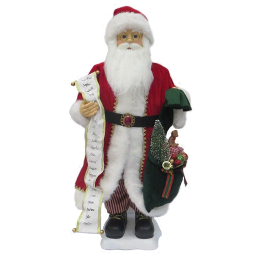 Holiday Living Animatronic Musical Santa Figurine