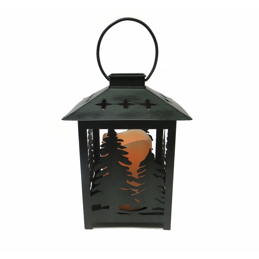 Shop holiday living pre lit lantern centerpiece with