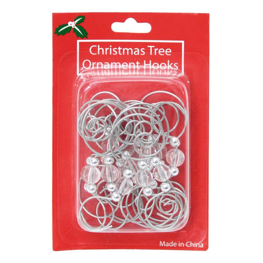 holiday living 16 pack assorted decorative metal christmas ornament hooks - Christmas Ornament Hooks