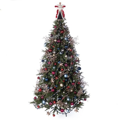 Sophisticated Christmas Tree: 224-Piece Sophisticated Full Tree Christmas Tree