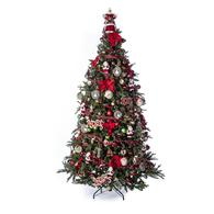 282 piece vintage full christmas tree decoration kit - Christmas Tree Decoration Sets