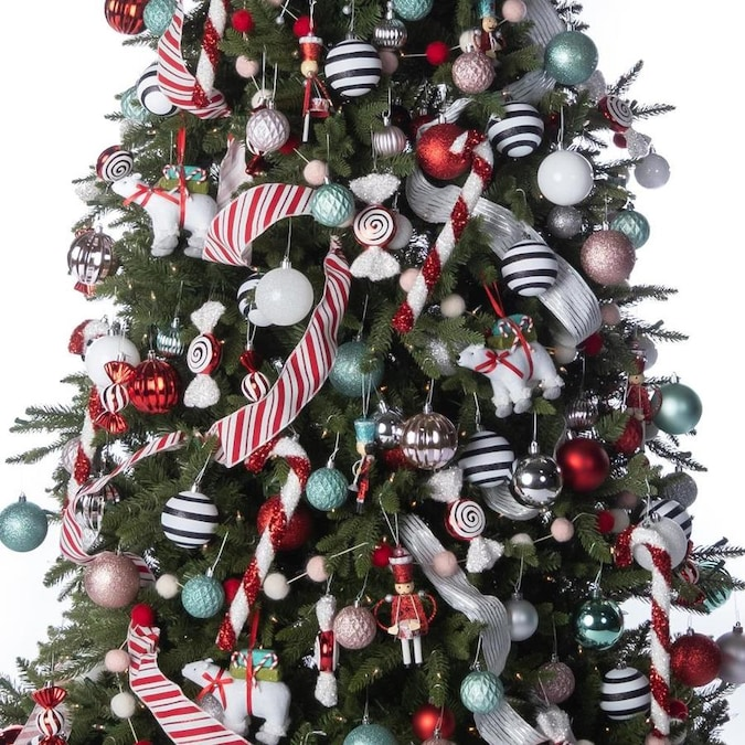 273 Piece Whimsical Full Tree Christmas Tree Decoration Kit In The Christmas Tree Decoration Kits Department At Lowes Com