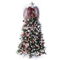 273 piece whimsical full christmas tree decoration kit - Christmas Tree Decorating Kits