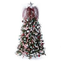 172 piece whimsical christmas tree decoration kit